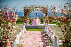 Styled the Aisle   Wedding Ceremony Ideas ~ Event Design: Nisie's Enchanted Florist