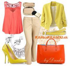 Žltá farba slniečka - KAMzaKRÁSOU.sk #fashion #summer