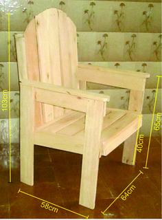 Pallet Garden Furniture, Pallet Chair, Diy Chair, Pallet Furniture, Wood Pallet Recycling, Wooden Pallet Projects, Wood Chair Design, Furniture Design, Woodworking Furniture Plans