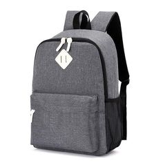 1426fd6a7e35 2018 Hot Male Backpacks School Bag Boys For Teenager girls Canvas Backpacks