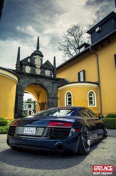 Wörthersee Part 5 - Fatlace™ Since 1999 Audi R8, Audi Quattro, Audi Sport, Sport Cars, My Dream Car, Dream Cars, Slammed Cars, Top Luxury Cars, Car In The World