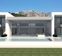 The Eagles House: a palacial ultra modern villa Model House Plan, House Plans, Luxury Homes Exterior, Modern Villa Design, Steel House, Modern Luxury, Modern Art, Building Design, Modern Architecture