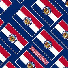 Smartphone Case - State Flag of Missouri - Diagonal II