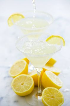 Lemon Drop Martini is much more than a shake and a stir! Fresh lemon ...