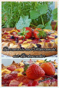 Fruchtige Beerentarte mit Xylit