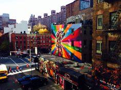 High line graffiti