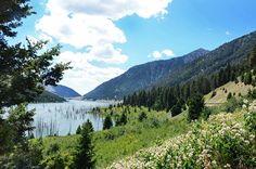 Earthquake Lake Montana