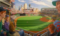 """""""Target Field, Home of the Minnesota Twins"""" by Max Mason"""