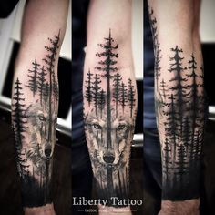 60 Ideas tattoo hombre pierna tat for 2019 Forest Tattoo Sleeve, Nature Tattoo Sleeve, Wolf Tattoo Sleeve, Forearm Sleeve Tattoos, Best Sleeve Tattoos, Tattoo Sleeve Designs, Left Arm Tattoos, Forarm Tattoos, Body Art Tattoos