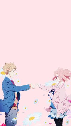 Kyoukai no Kanata They just kind of brushed past the ending without a real explanation, but that's okay. I'm glad it ended the way it did.