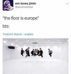 Lmao I get it I do they didn't go to Europe for their world tour bUT people act as though they've NEVER EVER gone to Europe like are u forgetting bon voyage and some of the kcons?? They HAVE gone there and I'm disappointed that they didn't go to Europe and I live in New Jersey in the US where one show was HELD but I didn't get to go bc fucking parents (ididntcrylike8timestfdoumean) but let's let our boys rest (bc going to Europe AND AFRICA DONT FORGET THERE ARE SOME ARMYS THERE would extend…
