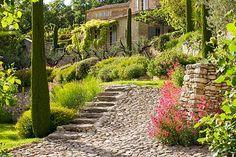 Hidden valley garden in Luberon designed by Michel Semini | Photo by Clive Nichols