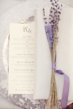 #stylemepretty for #ohsoinspired http://www.invitesweddings.com/b/top-romantic-lavender-infused-wedding-ideas-and-invitations.html