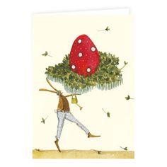 Die von #SilkeLeffler gestaltete Glückwunschkarte enthält Kräutersamen für Kresse, die dank der beiliegenden Pflanzanleitung im Handumdrehen ausgesät sind. https://www.graetz-verlag.de/bio-samenkarte-mit-osterkresse