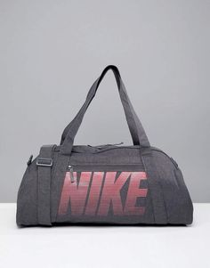 f2a9527051 Nike Training Nike Gym Club Training Duffel Bag In Grey Sac, Nike, Sac De