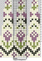 "Ravelry: ""Rósa"" Lopapeysa (Icelandic lopi wool Fair Isle sweater) pattern by Sarah Dearne Fair Isle Knitting Patterns, Knitting Charts, Knitting Stitches, Knitting Designs, Knit Patterns, Knitting Projects, Baby Knitting, Stitch Patterns, Motif Fair Isle"