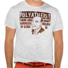 Polyatheist Tshirts