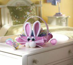 #DIY #Kids #Easter #Bunny #Basket #Holiday #Craft