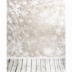 [US$2.59] 3x5FT 0.9mx1.5m Vinyl Snowflake Wood Floor Photography Backdrops Backgrounds Studio Props #3x5ft #0.9mx1.5m #vinyl #snowflake #wood #floor #photography #backdrops #backgrounds #studio #props