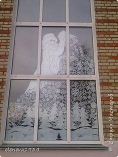 Интерьер Новый год Вырезание Украшение школы 2016 Бумага фото 4