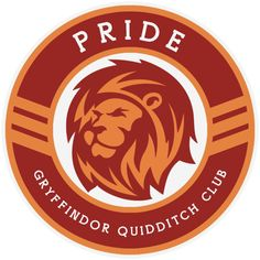 The Hogwarts House Quidditch Teams reimagined as a new league with modernised team names, mascots and logos. | Pride | Gryffindor Quidditch Club