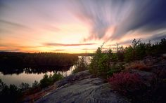All sizes | Looking Over a Lake in Stockholm | Flickr - Photo Sharing!