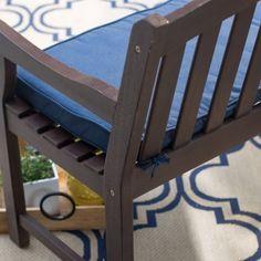 Belham Living Surfside 55 in. Sunbrella Outdoor Corded Bench Cushion