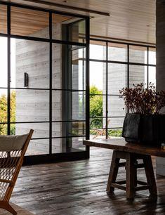 Residential Architecture, Interior Architecture, Interior Design, Scott Mitchell, Long Hallway, French Oak, Photo Studio, Studio Photos, Pacific Northwest