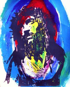 Image of Jesus in Contemporary Art Form. Contemporary Art Forms, Contemporary Artwork, Jesus Artwork, Art Periods, Jesus Face, Christ The King, Biblical Art, Christian Art, Picture Photo