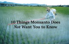 10 Things Monsanto Does Not Want You to Know Posted By Expanded Consciousness on July 29, 2014