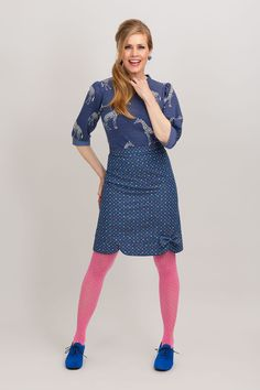 Collection spring ‹ Margot by MWM Colored Tights Outfit, Pink Tights, Black Tights, Geek Chic Outfits, Mod Fashion, Pin Up Girls, Looking For Women, Hosiery, Women Wear