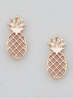 Pineapple Earrings [color optiolns]