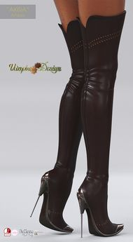 Boots are actually fashionable and there is large choice from flat-heels to stilettos, wedges, and platforms, boots are everything in between. Thigh High Boots, High Heel Boots, Over The Knee Boots, Heeled Boots, Bootie Boots, Talons Sexy, Leder Boots, High Leather Boots, Stiletto Boots