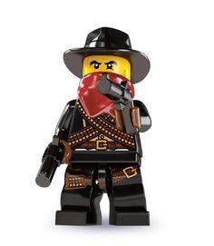 Bandido do faroeste lego