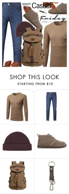 """""""Casual Friday"""" by pokadoll ❤ liked on Polyvore featuring Topman, Hedi Slimane, UGG, Ermenegildo Zegna, polyvoreeditorial and polyvoreset"""