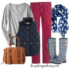 Frugal Fashion Friday J.Crew Inspired Fall Outfit