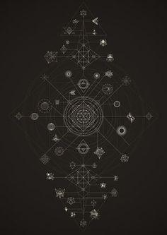 Cosmos | Lenguajes y Dinámicas on Behance / Sacred Geometry <3