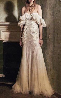 Costarellos Bridal gown