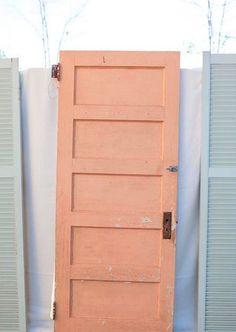 Peach Door | Style: Retro | Emerald + Fifty Shades Of Peach | Pinterest |  Peach And Doors