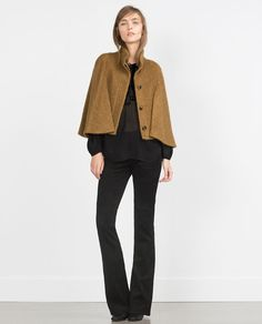 Image 1 of MOHAIR CAPE from Zara