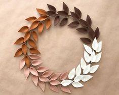 Modern spring wreath | Etsy...