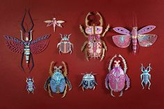 Paper Insects