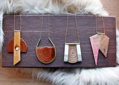 GUILLEMETTE WOOD JEWELRY :
