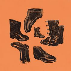 Boots by Depression Press, via Flickr