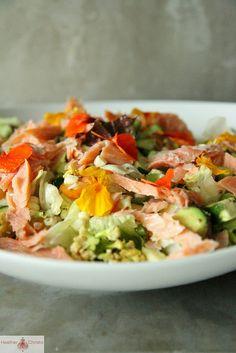 Summer Veggie Chopped Salad by Heather Christo