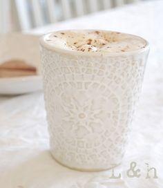 Ethnic Mug- handmade by PetraLundsLera www.petralundslera.se