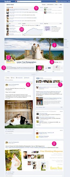 Everything you need to know about Facebook Timelines for Pages (and why you should love this as a photographer)!