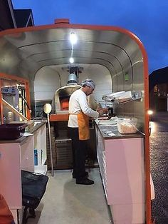 Mobile Pizza Business - Horsebox conversion wood-fired oven | eBay