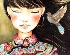 La mujer medicina es aquella que está vestida de fuerza y dignidad, que envuelve su alma en dulzura, que ama la vida y que colecciona motivos de felicidad.