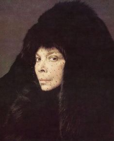 Leonor Fini, Paris, 1975, photography by Eddy Brofferio